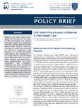 UAE Health Policy Impact in Maternal & Child Health Care