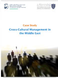 Cross-Cultural Management in the Middle East