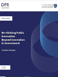 Re-thinking Public Innovation, Beyond Innovation in Government
