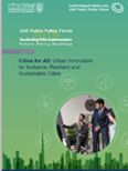 Cities for All: Urban Innovation for Inclusive, Resilient and...