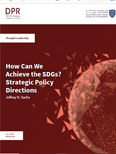 How Can We Achieve the SDGs? Strategic Policy Directions