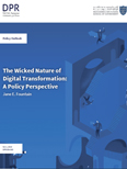 The Wicked Nature of Digital Transformation: A Policy Perspective