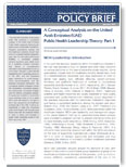 Public Health Leadership Theory- Part 1