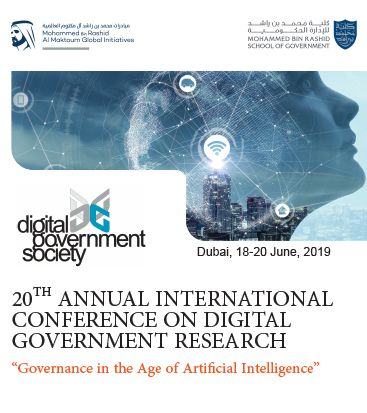 20th International Conference on Digital Government Research